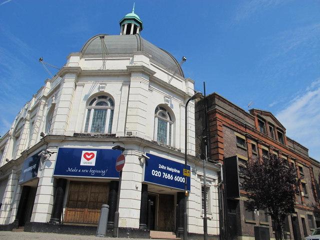 The former Grange Cinema, Kilburn High Road, NW6