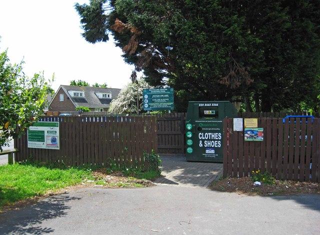 Avisford Park Recycling Centre, Nyetimber Lane, Rose Green