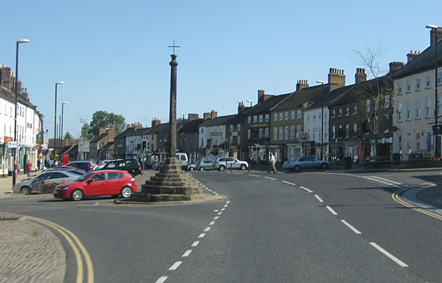 A684 passing through Bedale