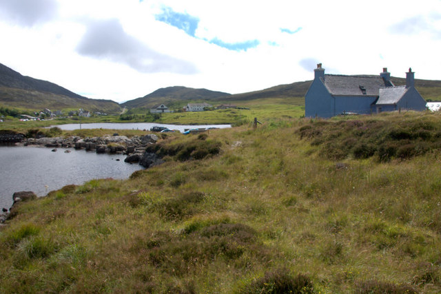 Site of former mill at An t-Ob (Leverburgh)