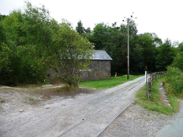 Former mineral line, Snailbeach Mine