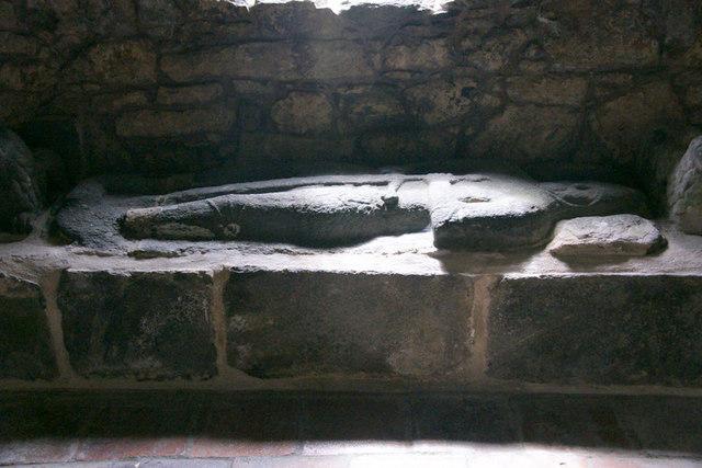 Tomb in St Clement's Church, Rodel (Tur Chliamainn, Roghadal)