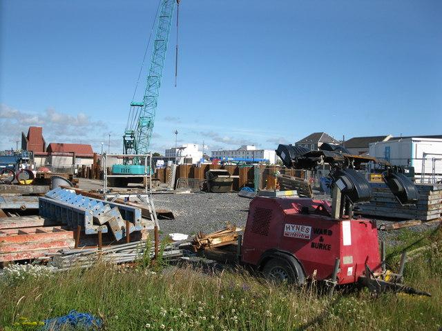 Construction site, Port Rodie