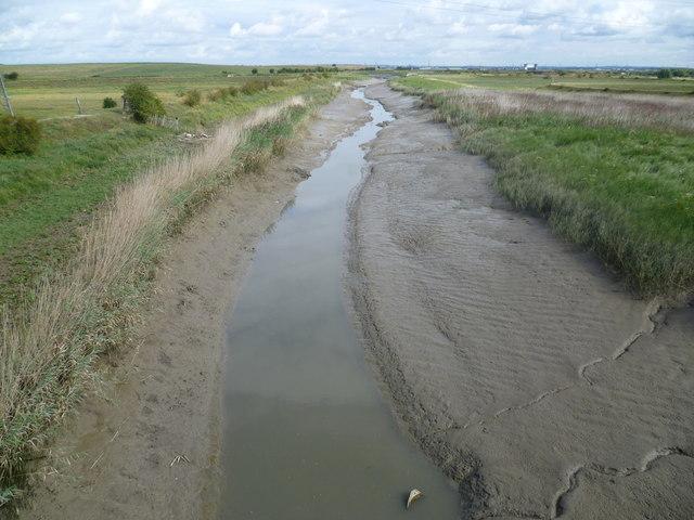 River Darent from University Way