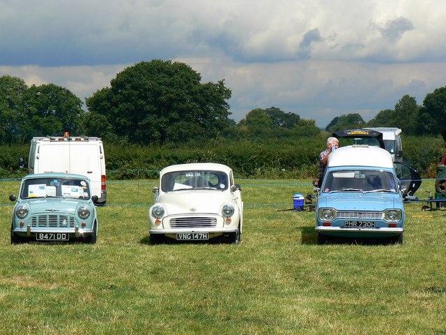 Take three vans, Swindon and Cricklade Railway, Blunsdon