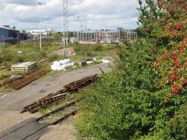Old Oak Common - Crossrail depot under construction