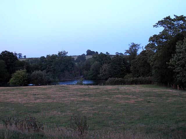 Lake at Withcote Hall