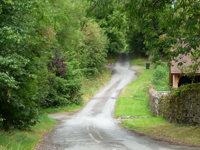 The lane to Lower Gravenor