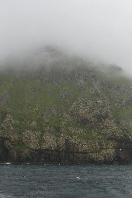 Coastline below Oisebhal, St Kilda