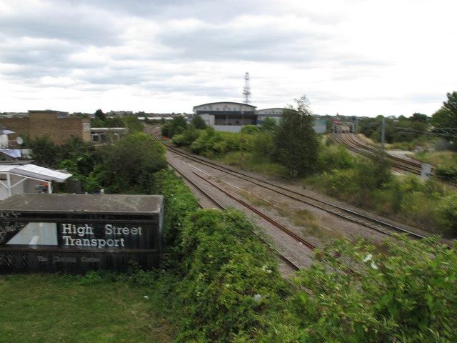 Old Oak Sidings and London Overground