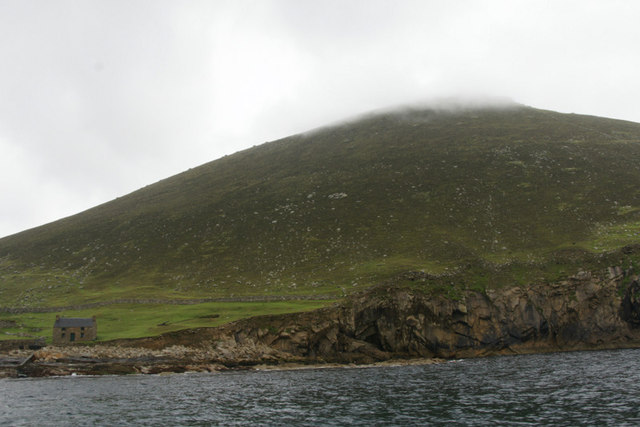 Oisebhal from Village Bay, St Kilda