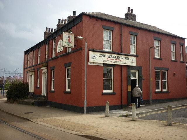 The Wellington, on Henry Street, Sheffield
