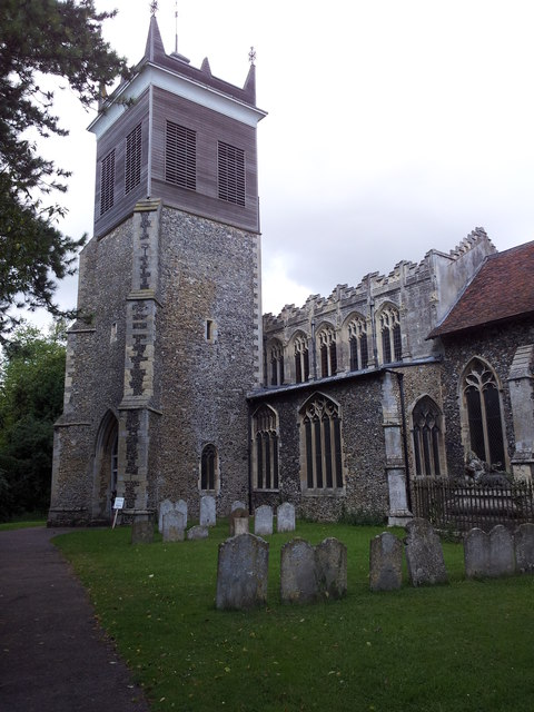 Church of the Blessed Virgin Mary, Stonham Aspal