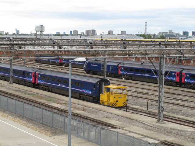 Old Oak Common - First Great Western depot