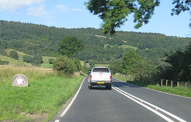 North Yorks Moors National Park boundary marker