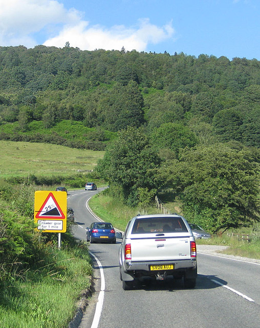 A170 on Sutton Bank