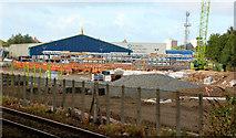 J3271 : New train maintenance depot, Belfast (4) by Albert Bridge