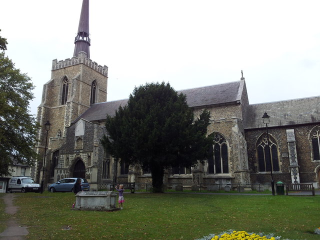 Church of St Peter and St Mary, Stowmarket