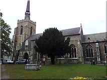 TM0458 : Church of St Peter and St Mary, Stowmarket by Helen Steed