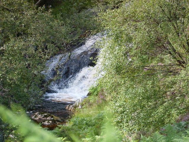 Waterfall on Neaty Burn