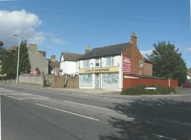Look-In Hardware shop, Canterbury Road, Folkestone