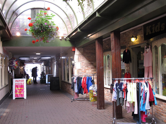 Covered arcade, Oakham