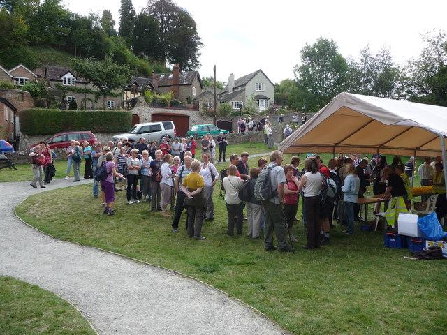 The 2011 Magnalonga at Dinham Millennium Green, Ludlow