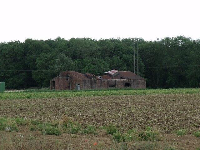 Cliff Farm - Ruined Building