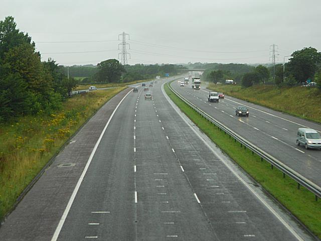 M6 Motorway, Forton