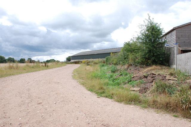 Track and Barns, Leese Farm