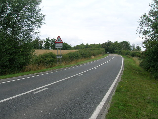 A634 towards Maltby