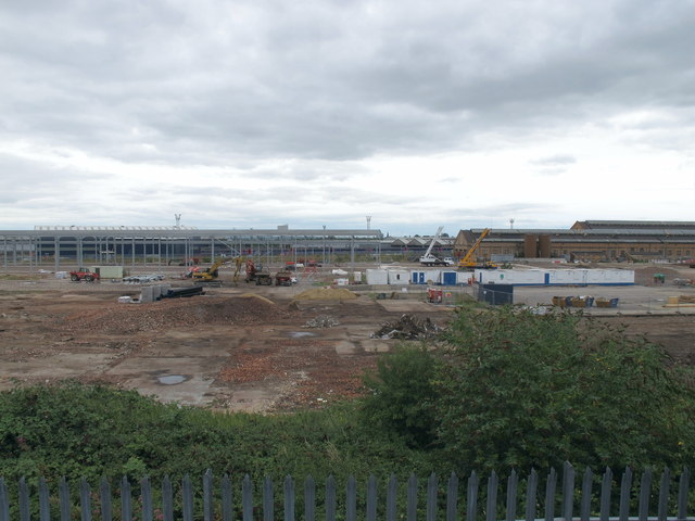 """Old Oak Common - site of """"The Factory"""", and Crossrail depot"""