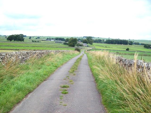 Pasture Lane and Back o'the Hill Farm