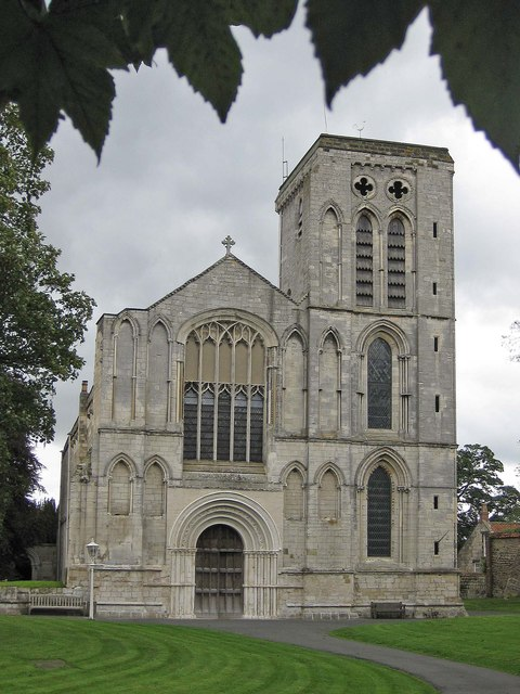 St Mary's Priory Church, Old Malton