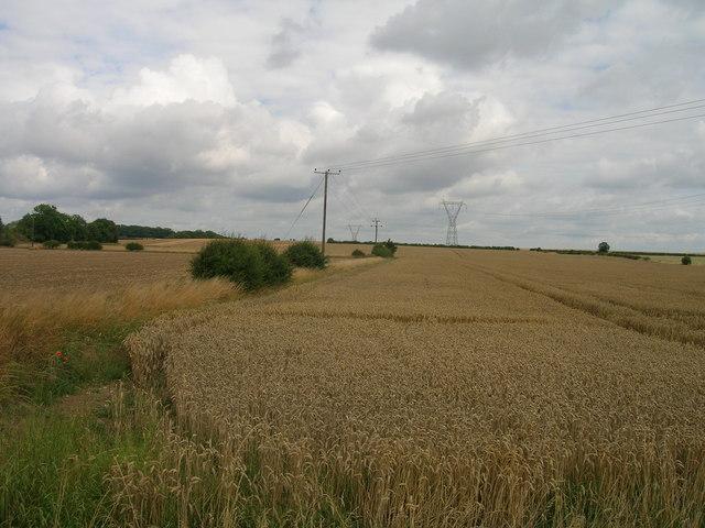 Farmland near Oldcotes