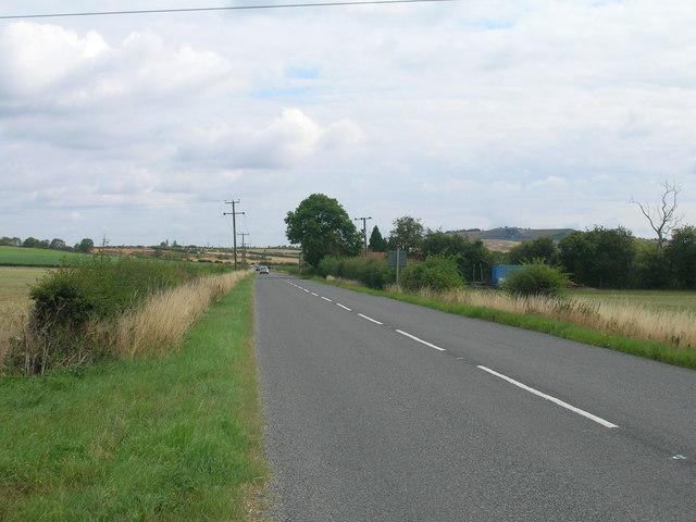 B6463 towards Styrrup