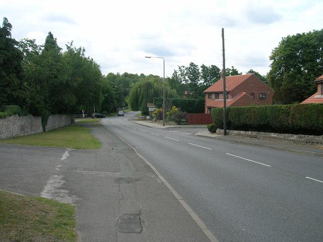 A60 towards Worksop