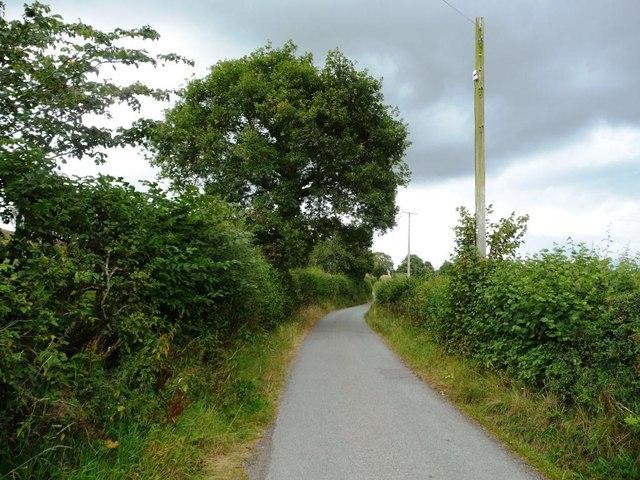 Lane to Norbury