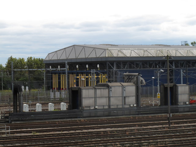 Old Oak Common - maintenance shed