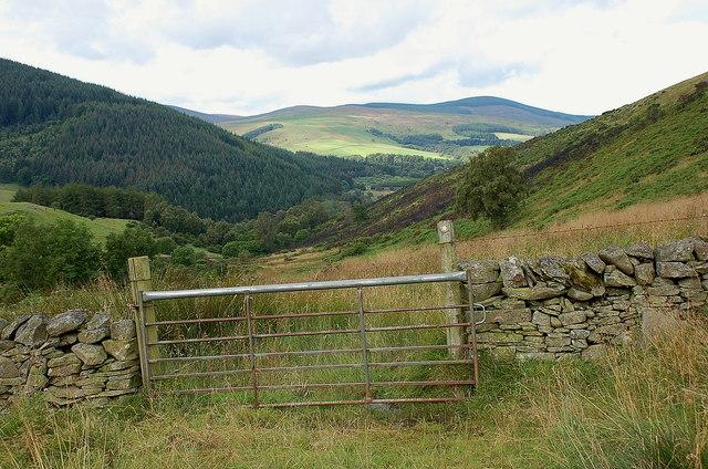 Gate on the path by Blakehope Burn