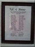 TM1763 : Roll of Honour, Debenham by Helen Steed