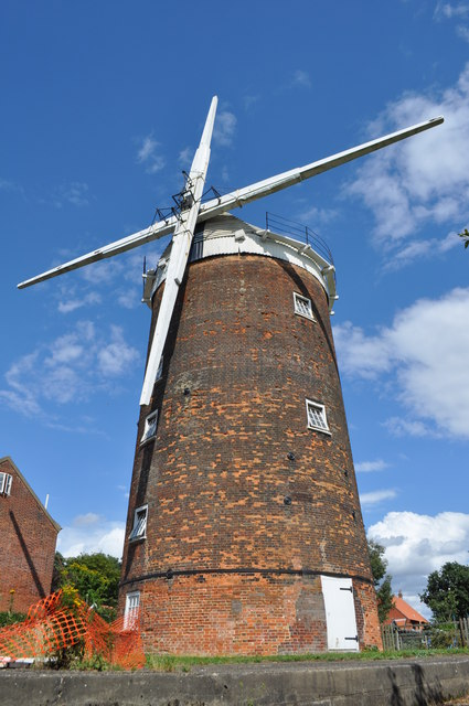 Old Buckenham Mill