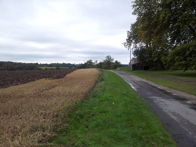 Ploughing the fields along Spring Lane