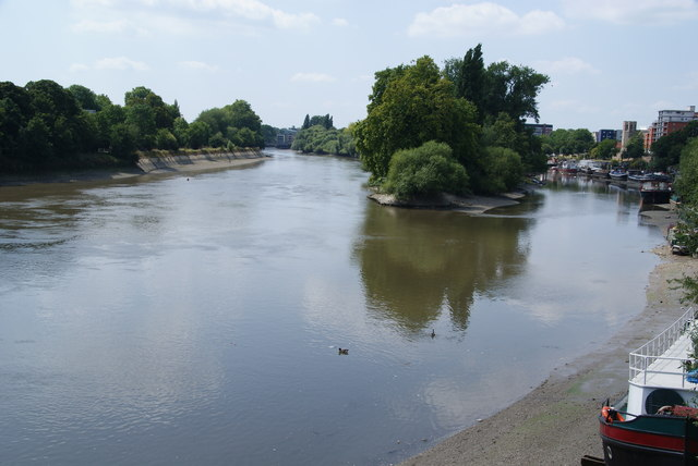 The River Thames from Kew Bridge