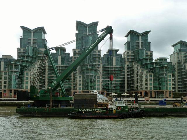 The ill-fated tug 'Chiefton'