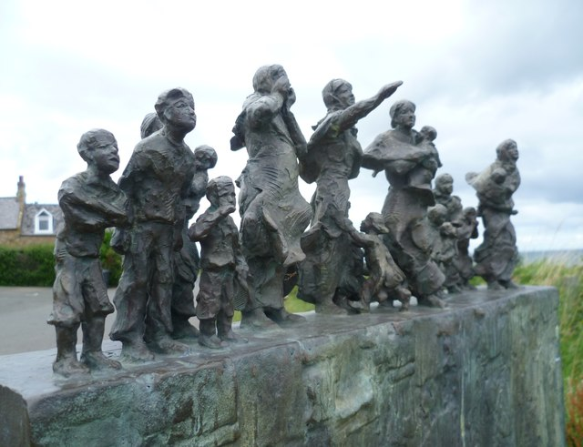 East Coast Fishing Disaster memorial, Cove