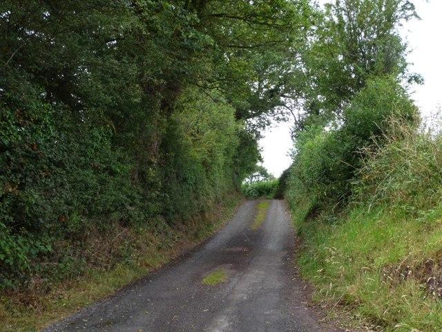The narrow lane to Norbury