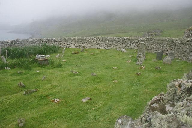 The graveyard, Village Bay, St Kilda