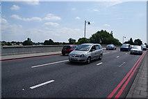 TQ1977 : Traffic on Kew Bridge by Bill Boaden