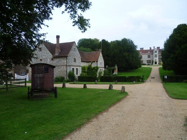 Driveway to Chawton House
